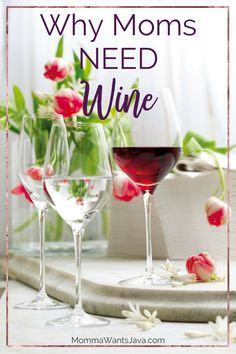 Did you ever wonder why moms love wine so much? I've got 8 reasons here why moms NEED wine. Yes, I said it. We need it.