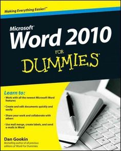 Wiley Word 2010 for Dummies