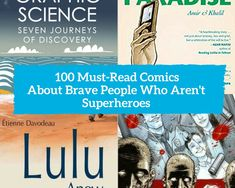 100 must-read comics about brave people who