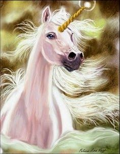 """Leila: """"I love unicorns so much. I wish they were real, so I could ride on one and take it to school."""""""