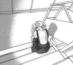 sad anime girl black and white Sad Anime Girl, Anime Art Girl, Manga Girl, Anime Girls, Manga Anime, Cool Anime Pictures, Anime Triste, Dark Art Illustrations, Manga Love