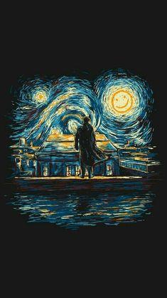 Van Gogh Wallpaper, Painting Wallpaper, Aesthetic Pastel Wallpaper, Aesthetic Wallpapers, Tumblr Wallpaper, Wallpaper Backgrounds, Animes Wallpapers, Cute Wallpapers, Van Gogh Art