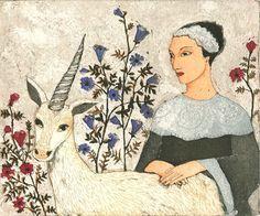 Kirsi Neuvonen, Taru neidosta ja yksisarvisesta / A Tale of a Maid and a Unicorn (2010)