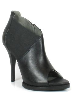 Classic black bootie--can't go wrong!  #shoes #boots #fashion