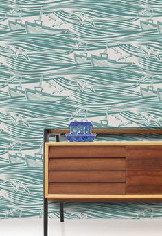 Whitby Wallpaper - eclectic - wallpaper - Mini Moderns