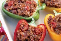 Turkey in Pepper Shells [HEALTY NUTRITION]