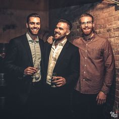 Since January 2013, we've hosted #socialwhisky events on the #thirdThursday of every month at Shebeen Whisky House in Vancouver's historic #Gastown. If you've ever wondered who some of the #Wisemen are, (from left to right) meet our President: Kevin Shaw, Creative Director: Nick Harborne, and Vice President: Jordan Scott. We look forward to seeing you tomorrow!  Photo by: @theglasseye_ca