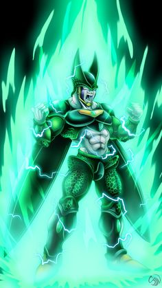 AU Cell after Broly by darkly-shaded-shadow.deviantart.com on @DeviantArt