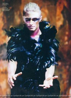 Daniel Radcliffe in Dazed and Confused magazine.