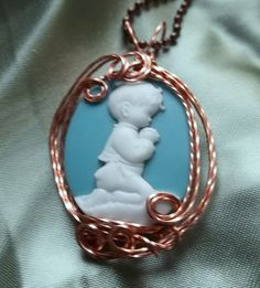 Daily Prayers Pendant by deans on Etsy, $12.00