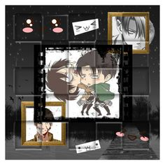 """""""eren x levi fanfic plz request!"""" by xenomorphs4life ❤ liked on Polyvore featuring мода, Levi's, women's clothing, women, female, woman, misses и juniors"""