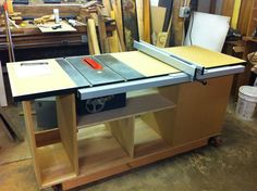 table saws bases | Table Saw Workstation, Craftsman 113.xx #1: Step 1 Complete
