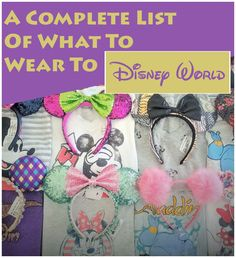 Florida can be hot and humid during the day and freezing cold at night. Check out what outfits to pack to be prepared for anything!  |Disneyland planning| Disney World planning| Disney tips and tricks| Disney secrets| What to pack for your Disney vacation. Disney World Packing, Disney World Vacation, Disney Cruise Line, Disney Vacations, Disney Travel, Disney World Tips And Tricks, Disney Tips, Disney Planning, Disney Stuff