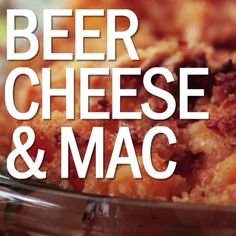 Beer Cheese and Mac takes two great things and infuses them into one amazing dish.