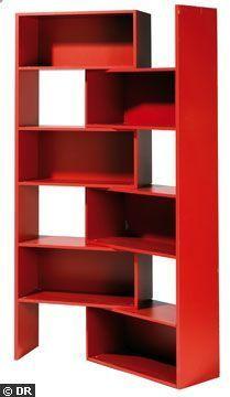 Rangement pivotante pour les angles - Meuble : une nouvelle bibliothèque pour mes livres - CôtéMaison.fr