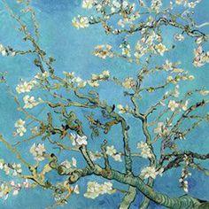 Oliver Gal 'Van Gogh Tribute Robin Blue' Wall Art Print East Urban Home Vincent Van Gogh, Framed Artwork, Framed Art Prints, Fine Art Prints, Wall Art, Wall Décor, Oliver Gal, Van Gogh Prints, Van Gogh Pinturas