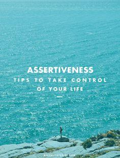 Let's Talk About Assertiveness | moonlitstories.com