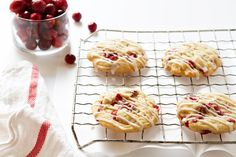 Orange Cranberry Cookies are a sweet and tart addition to your Christmas cookie tray. They'll have everyone asking for more!