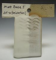 The University of Montana Clay and Glaze: Robyn's Cone 6 Ox: Cushing's Matte Base 5, Spring 2011