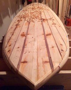 Rough shaped Cedar & Redwood Deck