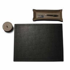 desiary.de - Schreibtischauflage, schwarz