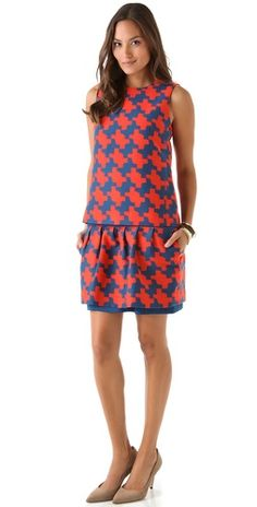 Diane von Furstenberg Veronica Dress with Removable Shell