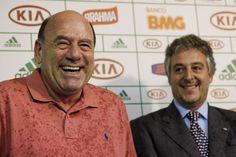 Brunoro e Paulo Nobre prometem ser duros contra organizadas     © Ale Frata/Frame/Folhapress
