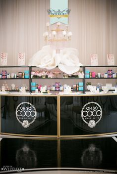 WedLuxe:  Oh So Coco Swag Suite (Gifting Bar)