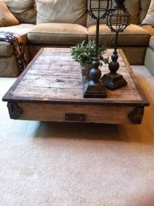 Portland: Nutting Cart, Antique   Coffee Table $950   Http://furnishlyst