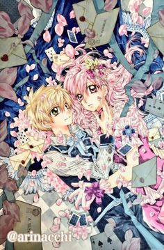 Couverture magazine par la mangaka Arina Tanemura