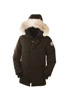 Canada Goose Outlet Chateau Parka Men Brown With Fast Delivery Free Online - $389