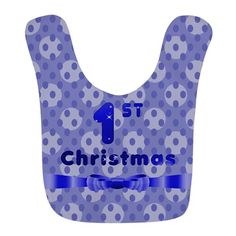 Christmas Bib on #baby #first christmas #infant #baby first christmas #reindeer #cupcake #1st christmas #babies 1st christmas #1st christmas #holiday #graphic design gifts and clothings for babies