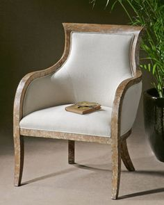Quintus Armchair at Horchow.