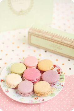 Macarons from Ladurée, Paris   Flickr - Photo Sharing!