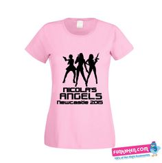 Angels Hen Night T-shirts Hens Night, T Shirt Vest, Newcastle, Vests, Angels, Printing, Colour, T Shirts For Women, Party