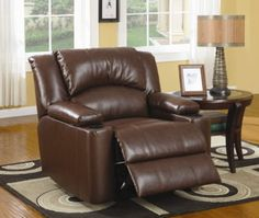 What living room would not be complete without a comfy recliner?