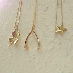 Jennifer Meyer's 18-karat gold good luck pendant designs. What's your favorite lucky charm?