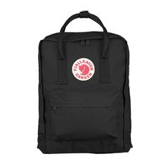 738d3d59fda7f Fjallraven Kanken Classic Black - SALE 15% off - Travel Backpack #travel  #backpack