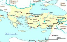 Map of the Byzantine Empire 1025 AD. At the death of the Emperor Basil II in 1025, Byzantium was at the apex of its medieval power. The ninth century had first seen Greece re-conquered and brought under regular Byzantine control. Then, the balance of power on the eastern frontier had slowly but decisively shifted in Byzantium's favour, with tables turned upon the declining Abbasid Caliphate and the Arab 'raiding emirates'. Finally, Basil himself had prevailed in brutal conflict with the…