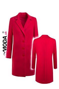 Elegantný jarný dámsky kabát – trendymoda.sk Blazer, Coat, Jackets, Fashion, Down Jackets, Moda, Sewing Coat, Fashion Styles, Blazers