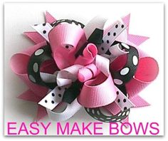 Free Hair Bows Instructions - Bing Images