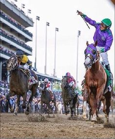 California Chrome. Commanding Curve in 2nd to the left.