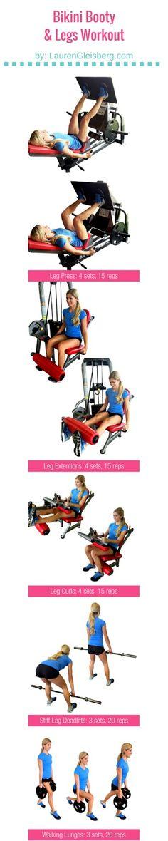Bikini Booty & Legs Workout | Part of the ConfidenceKini Workout Challenge…