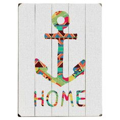 Anchor Home Decor | You Make Me Home Wall Decor - Made in the USA on Joss & Main