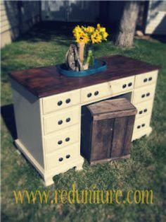 Sewing nook Desk idea