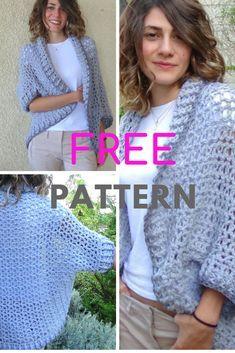 Crochet Shrug Free Crochet Pattern of my Aspen Shrug! Easy Crochet Shrug, Crochet Shrug Pattern Free, Crochet Shawls And Wraps, Crochet Patterns, Free Pattern, Knit Vest Pattern, Crochet Cocoon, Crochet Baby, Free Crochet