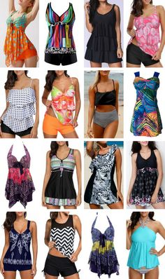Hot Sal Tankini Swimsuits and Swim Dresses For Women, Up To 60% Off.