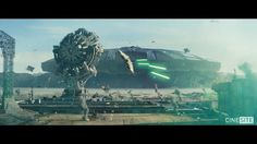Cinesite's teams in Montréal and London created many of the visual effects for the Fox production Independence Day: Resurgence. From the 50km wide Queen ship to the epic construction of the Area 51 environment, here is a visual breakdown of our work on one of the most climactic sequences in the film.