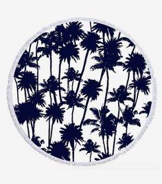 """Serviette de plage tropicale """"La Palmeraie"""" : 89,95 €"""