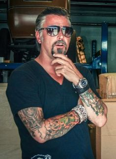 """Of course my is Nicolas Cage (long time love) and the one and only Hey its just a crush! Richard Rawlings, Fast N Loud, Gas Monkey Garage, Let It Rip, Secret Crush, Converse All Star, Bearded Men, Beautiful People, Eye Candy"